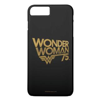 Wonder Woman 75th Anniversary Gold Logo iPhone 8 Plus/7 Plus Case