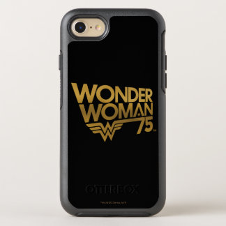 Wonder Woman 75th Anniversary Gold Logo OtterBox Symmetry iPhone 7 Case