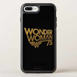 Wonder Woman 75th Anniversary Gold Logo OtterBox Symmetry iPhone 7 Plus Case