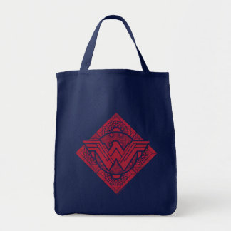 Wonder Woman Amazonian Symbol Tote Bag