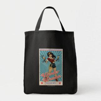 Wonder Woman Amazonians Unite Vintage Poster