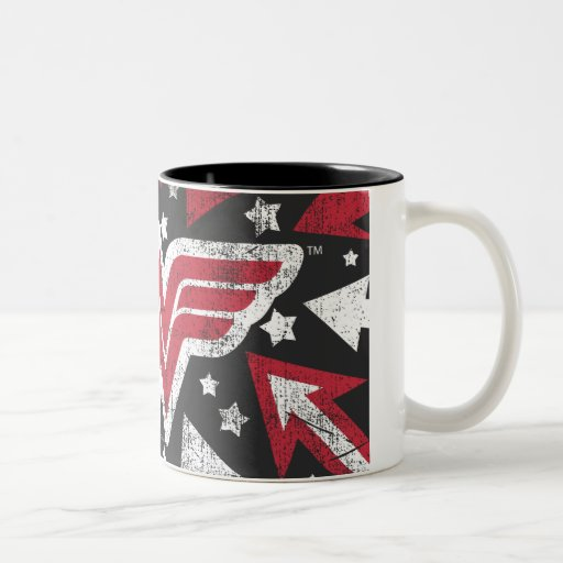 Wonder Woman Arrows Coffee Mugs