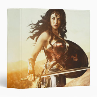 Wonder Woman At Sunset Binder