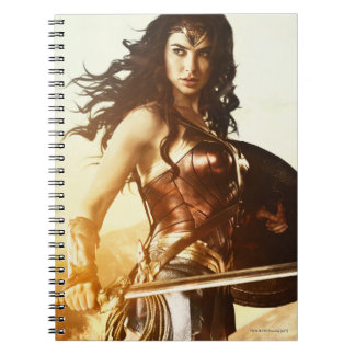 Wonder Woman At Sunset Notebook