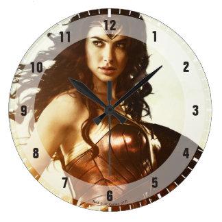 Wonder Woman At Sunset Wallclock