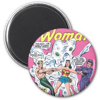Wonder Woman Battle Prize 2 Inch Round Magnet
