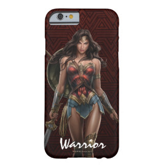 Wonder Woman Battle-Ready Comic Art Barely There iPhone 6 Case