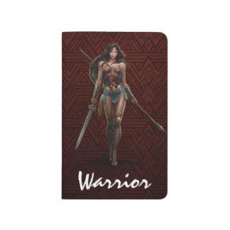 Wonder Woman Battle-Ready Comic Art Journal