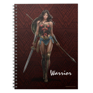 Wonder Woman Battle-Ready Comic Art Notebooks