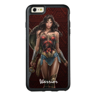 Wonder Woman Battle-Ready Comic Art OtterBox iPhone 6/6s Plus Case
