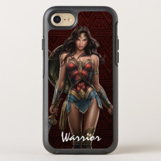 Wonder Woman Battle-Ready Comic Art OtterBox Symmetry iPhone 8/7 Case