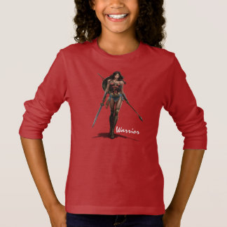 Wonder Woman Battle-Ready Comic Art T-Shirt