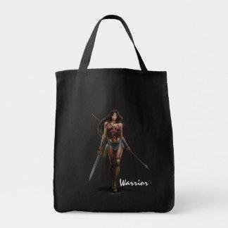 Wonder Woman Battle-Ready Comic Art Tote Bag
