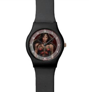 Wonder Woman Battle-Ready Comic Art Watch