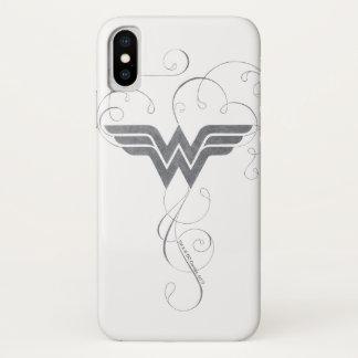 Wonder Woman | Beauty Bliss Logo iPhone X Case