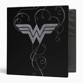 Wonder Woman | Beauty Bliss Logo Vinyl Binders