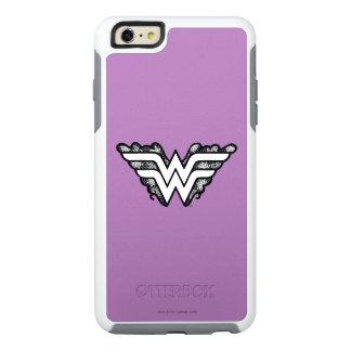 Wonder Woman Black Lace Logo OtterBox iPhone 6/6s Plus Case