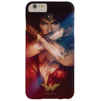 Wonder Woman Blocking With Bracelets Barely There iPhone 6 Plus Case