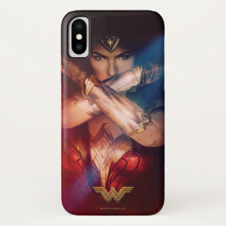 Wonder Woman Blocking With Bracelets Case-Mate iPhone Case