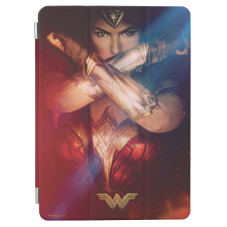 Wonder Woman Blocking With Bracelets iPad Air Cover