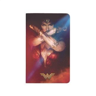 Wonder Woman Blocking With Bracelets Journal