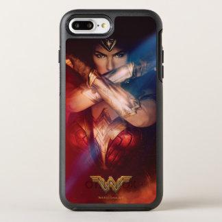 Wonder Woman Blocking With Bracelets OtterBox Symmetry iPhone 7 Plus Case