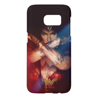 Wonder Woman Blocking With Bracelets Samsung Galaxy S7 Case
