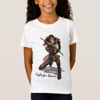 Wonder Woman Blocking With Bracelets T-Shirt