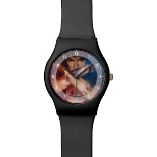 Wonder Woman Blocking With Bracelets Watch