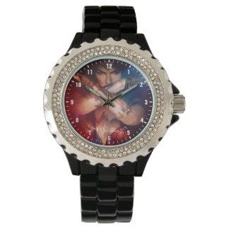 Wonder Woman Blocking With Bracelets Watch