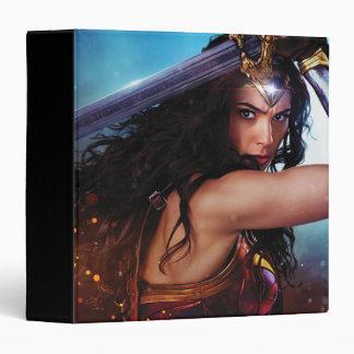 Wonder Woman Blocking With Sword Binders