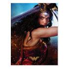 Wonder Woman Blocking With Sword Postcard