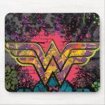 Wonder Woman Brick Wall Collage