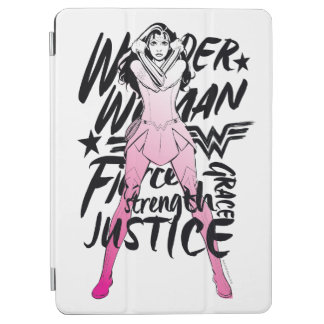 Wonder Woman Brush Typography Art iPad Air Cover