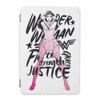 Wonder Woman Brush Typography Art iPad Mini Cover