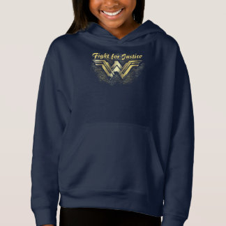 Wonder Woman Brushed Gold Symbol