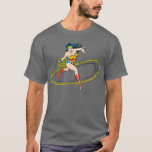 Wonder Woman Circled with Lasso T-Shirt