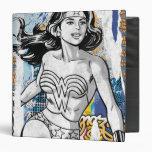 Wonder Woman Collage 4 Binders