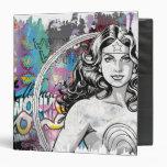 Wonder Woman Collage 6 Vinyl Binder