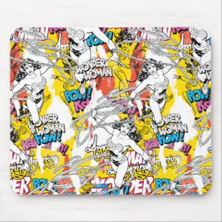 Wonder Woman Collage 7 Mouse Pad