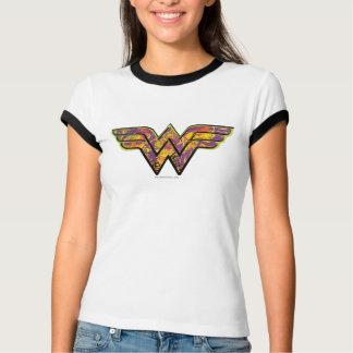 Wonder Woman Colorful Logo T-Shirt