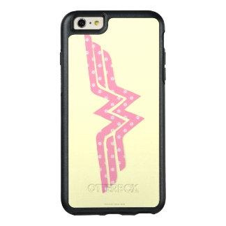 Wonder Woman Colorful Pink Floral Logo OtterBox iPhone 6/6s Plus Case