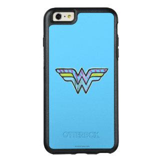 Wonder Woman Colorful Sketch Logo OtterBox iPhone 6/6s Plus Case