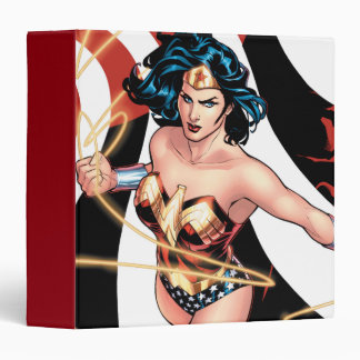 Wonder Woman Comic Cover #12 Binder