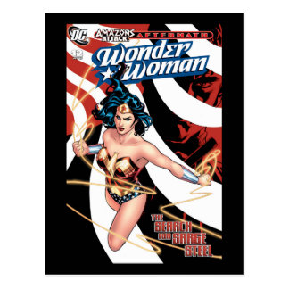 Wonder Woman Comic Cover #12 Postcard