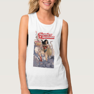 Wonder Woman Comic Cover #13 Tank Top