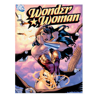 Wonder Woman Comic Cover #1 Postcard