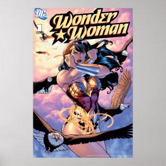 Wonder Woman Comic Cover #1 Poster