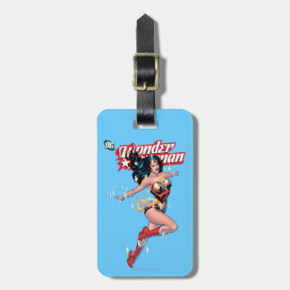 Wonder Woman Comic Cover Luggage Tag