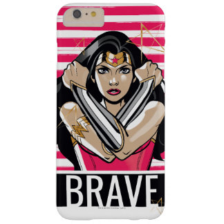 Wonder Woman Defend - Template Barely There iPhone 6 Plus Case
